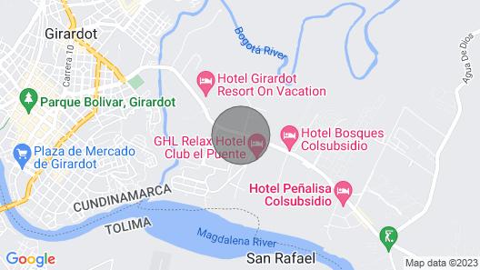 Apartamento De Lujo En Ricaurte Map