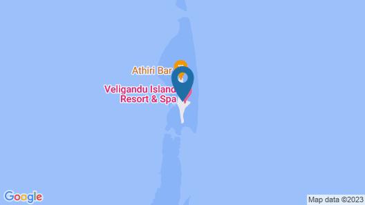 Veligandu Island Resort & Spa Map