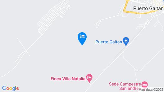 Hotel Campestre San Manuel Map