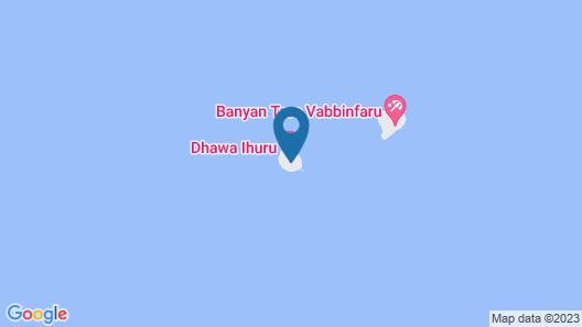Angsana Ihuru - All Inclusive SELECT Map
