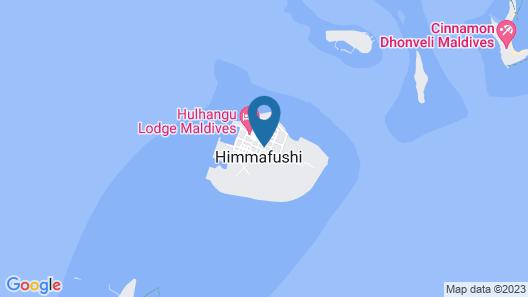 EM Beach Maldives Map