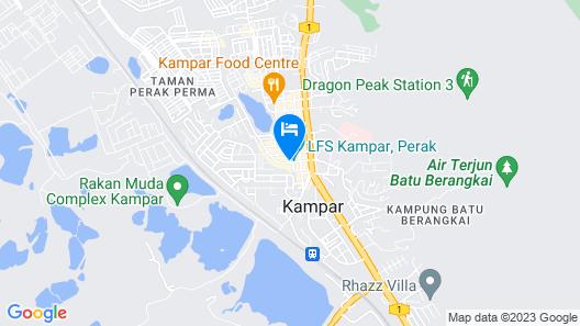 Kampar Boutique Hotel Map