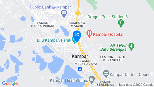 MD Boutique Hotel Map