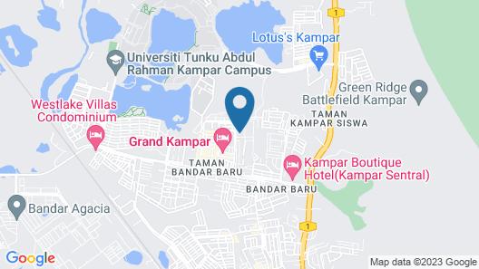 M Boutique Kampar Map