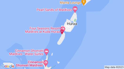 Four Seasons Maldives At Kuda Huraa Map