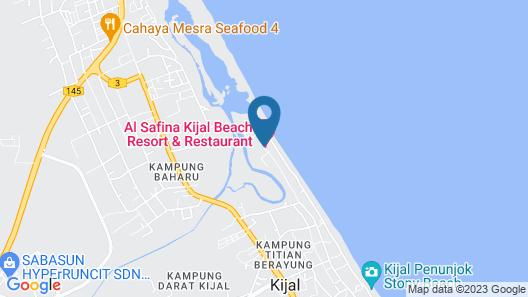 AL-Safina Kijal Beach Resort Map