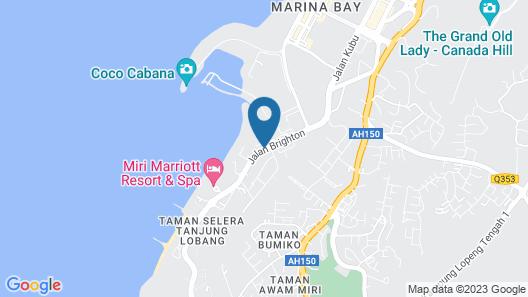 Pullman Miri Waterfront Map