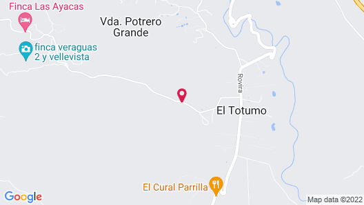 Villa Del Bosque Totumo Map