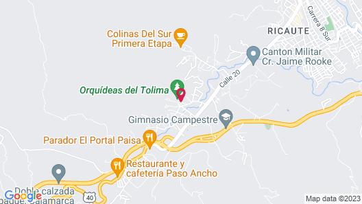 Orquideas del Tolima Map