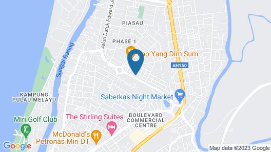 Mciti Suites Map