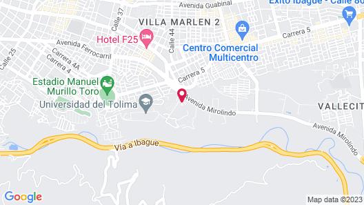 Hotel Estelar Altamira Map