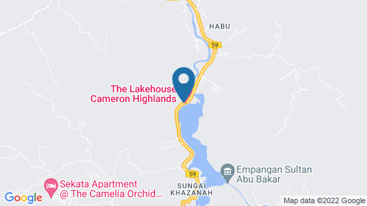 The Lakehouse Cameron Highlands Map