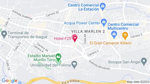 Hotel F25 Map