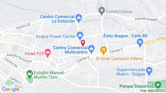 Eco Star Hotel Map