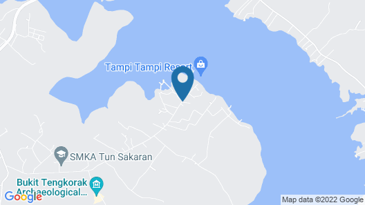 Scuba Tiger Semporna Holiday Resort Map