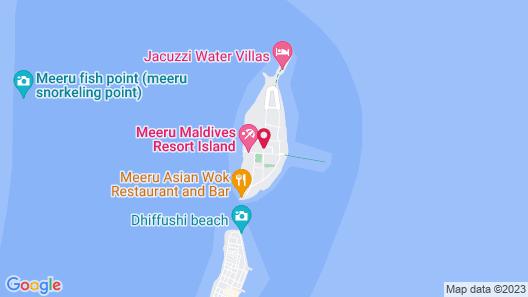 Meeru Island Resort & Spa Map