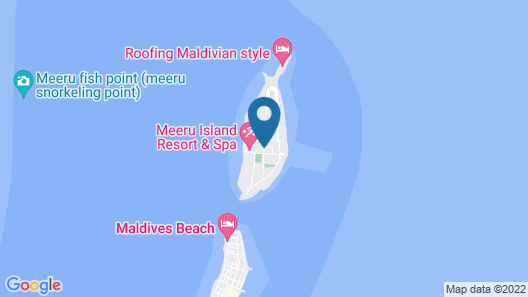 Meeru Island Resort & Spa Map