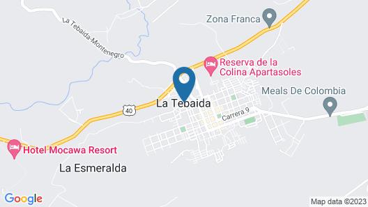 Portal Del Sol Hotel & Club Map
