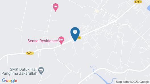 OYO 90149 Pua Family Semporna Map