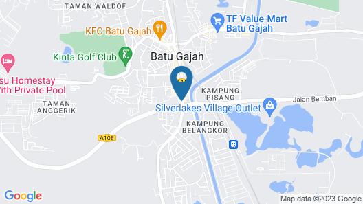 Hotel Boutique Batu Gajah Map