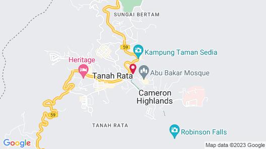 Century Pines Resort Map