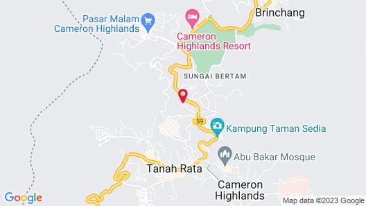 Cameron Highlands Bungalow - Pine Cottage Map