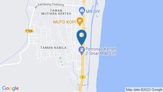 OYO 90080 Kay Inn Kerteh Map