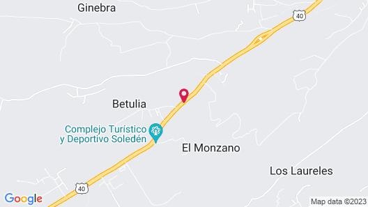 Hostal Los Juanes - Hostel Map