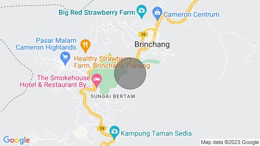 Cameron Highlands Bungalow A Map