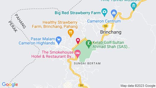 Cameron Highlands Resort Map