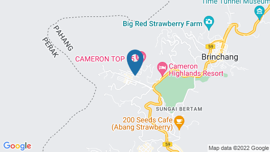 Cameron Highlands Double Story (Golden Hill) Map