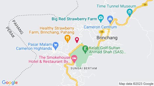 Smurf Inn Homestay Map