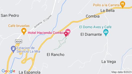 Hacienda Combia Map