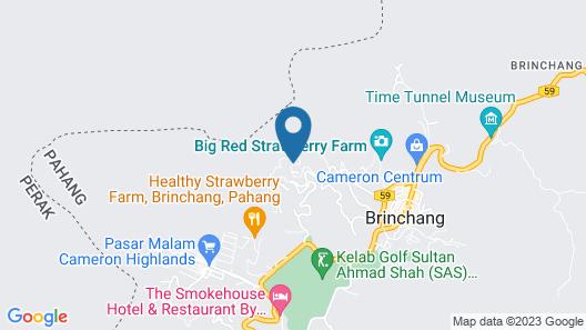 Strawberry Park Resort Map