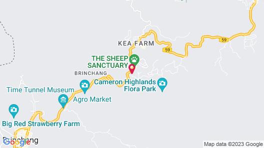 Kea Garden Guesthouse Map