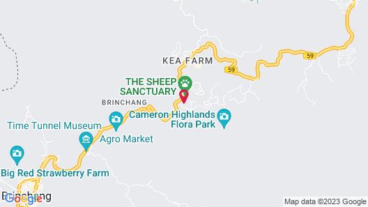 Kea Garden Mini Chalet Map