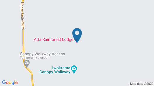 Atta Rainforest Lodge Map