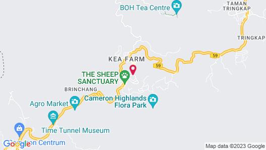 Copthorne Hotel Cameron Highlands Map