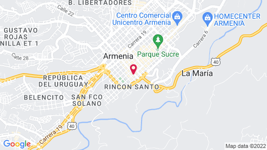 Hotel Toledo Plaza Map