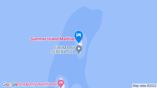 Summer Island Maldives Map
