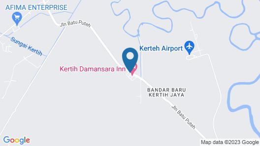 Kerteh Damansara Holiday Home Map