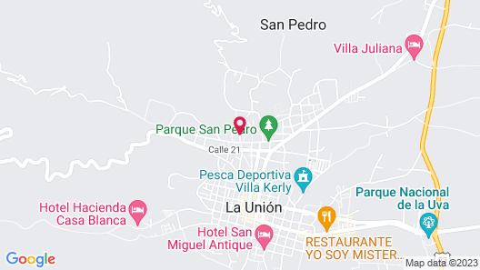 Finca Hotel Villa Martha La Union Valle Map