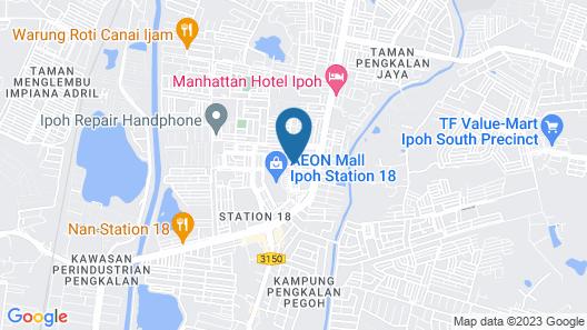 M Boutique Station 18 Map