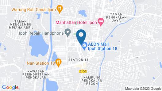 Hotel 18 Map