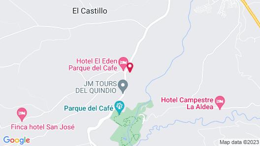 Tucurinca Hotel & Spa Map