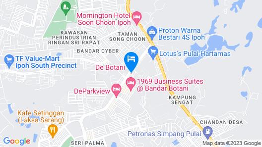 De Botani Hotel Map