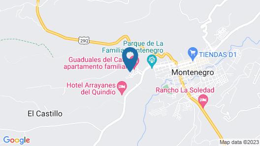 Apto Familiar a 2kms del Parque Cafe Map