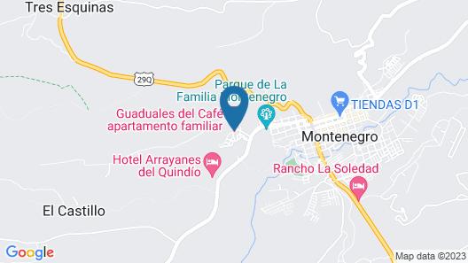 Apartamento cerca al Parque del Café Map