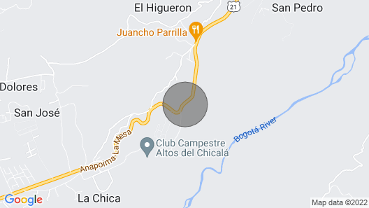 Villa Paola Property Map