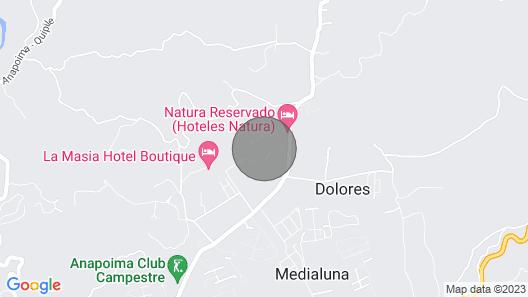SPECTACULAR FINCA ANAPOIMA Map